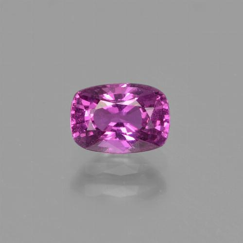 Pinkish Purple Sapphire Gem - 1.1ct Cushion-Cut (ID: 447697)