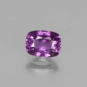 Purple Sapphire Gem - 1.3ct Cushion-Cut (ID: 447747)