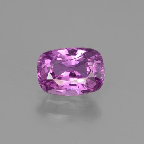 Medium Purple Zafiro Gema - 1.3ct Corte en Forma Cojín (ID: 447773)