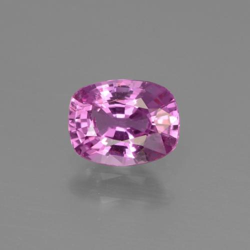 Intense Purple زفير حجر كريم - 1ct قص على شكل وسادة (ID: 447774)