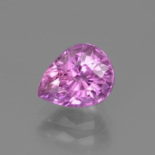 Pink Sapphire Gem - 1.8ct Pear Facet (ID: 447775)