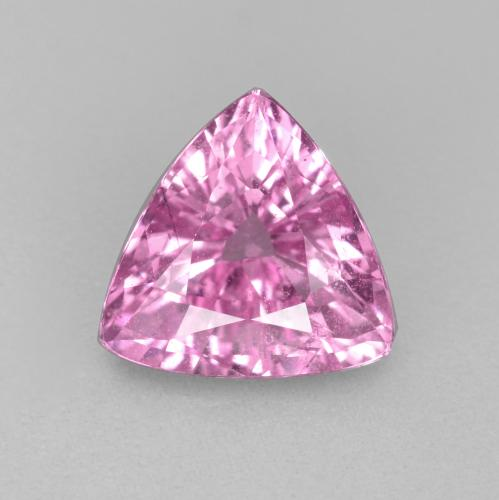 Bright Pinkish Purple Zafiro Gema - 1.2ct Forma trillón (ID: 447797)