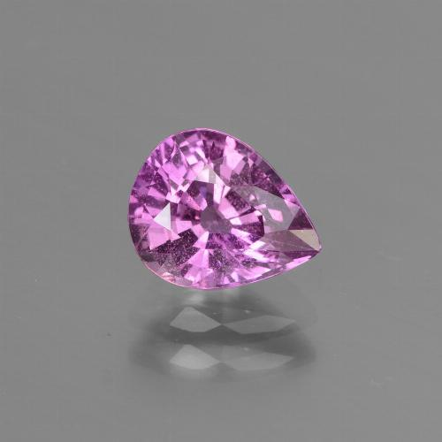 Buy 1.42 ct Pinkish Violet Sapphire 7.62 mm x 6.1 mm from GemSelect (Product ID: 447817)