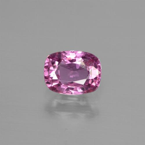 Purple Pink Sapphire Gem - 1.2ct Cushion-Cut (ID: 447820)