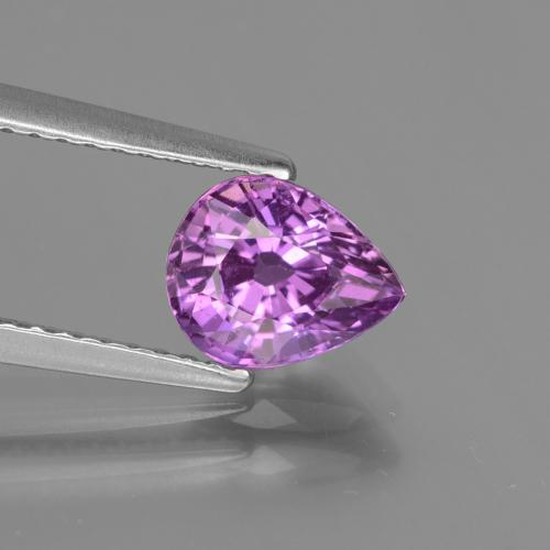 Purple Sapphire Gem - 1.5ct Pear Facet (ID: 447824)