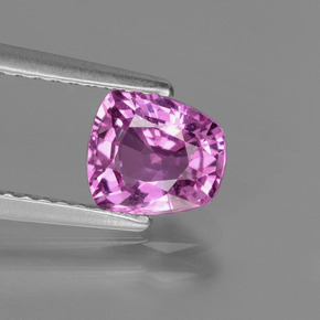 Intense Pinkish Purple Sapphire Gem - 1.2ct Fancy Facet (ID: 447839)