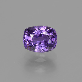 Purple Sapphire Gem - 1.2ct Cushion-Cut (ID: 448531)