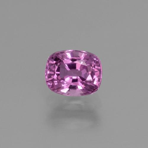 Hot Pink Sapphire Gem - 1.1ct Cushion-Cut (ID: 448537)