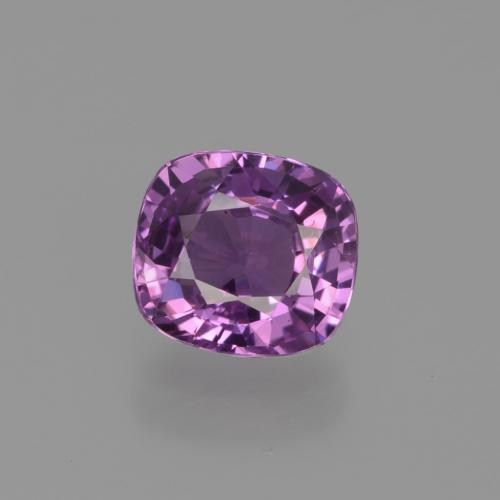 Pinkish Grape Zafiro Gema - 1.3ct Corte en Forma Cojín (ID: 448583)