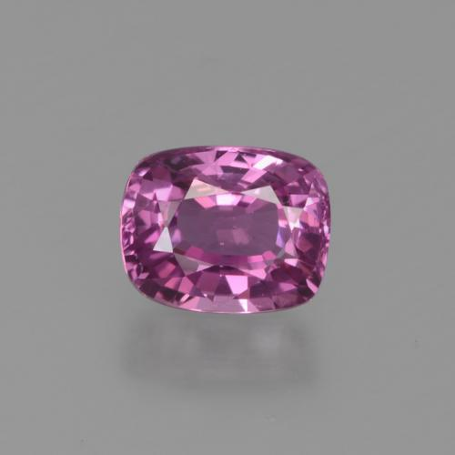 Pinkish Purple Sapphire Gem - 1.2ct Cushion-Cut (ID: 448588)