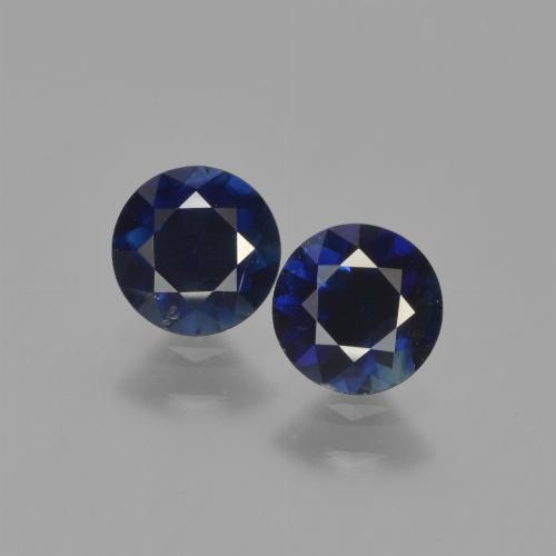 Blue Sapphire Gem - 0.6ct Diamond-Cut (ID: 449650)