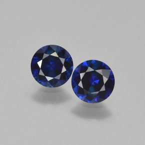 Blue Sapphire Gem - 0.6ct Diamond-Cut (ID: 449655)