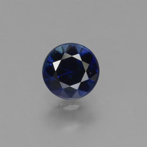 Blue Sapphire Gem - 0.7ct Diamond-Cut (ID: 449700)