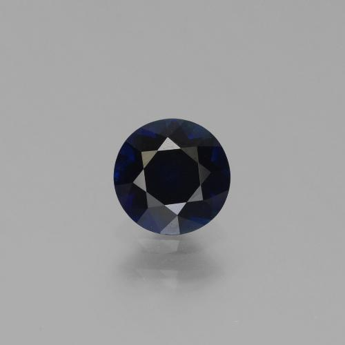 Blue Sapphire Gem - 0.7ct Diamond-Cut (ID: 449721)