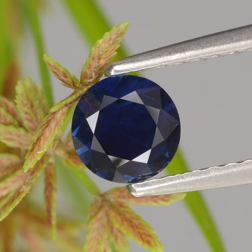 Blue Sapphire Gem - 0.6ct Diamond-Cut (ID: 449722)