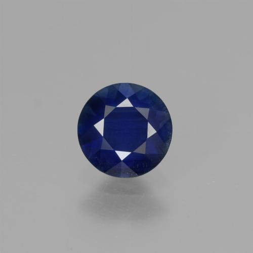 Blue Sapphire Gem - 0.7ct Diamond-Cut (ID: 449727)
