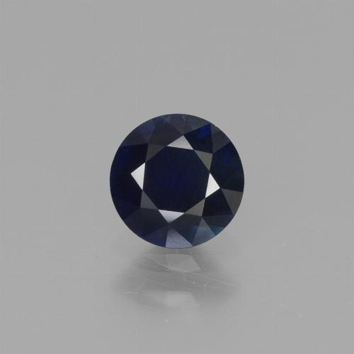 Blue Sapphire Gem - 0.7ct Diamond-Cut (ID: 449731)