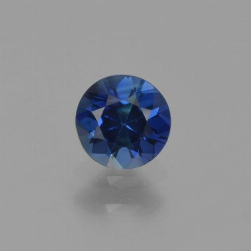 Navy Blue Zafiro Gema - 0.6ct Corte Diamante (ID: 449746)