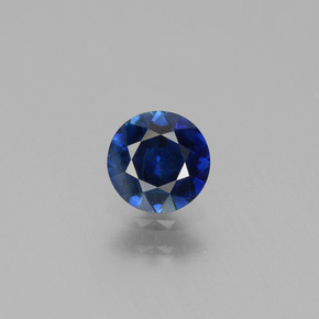 Blue Sapphire Gem - 0.8ct Diamond-Cut (ID: 449756)