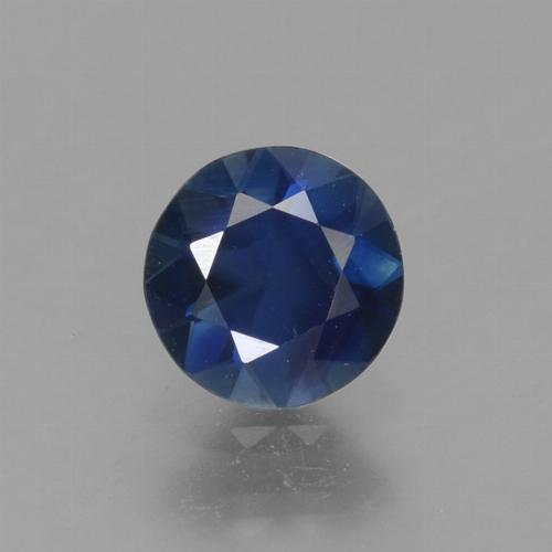 Blue Sapphire Gem - 0.8ct Diamond-Cut (ID: 449769)