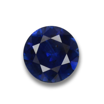 Blue Sapphire Gem - 0.7ct Diamond-Cut (ID: 449795)