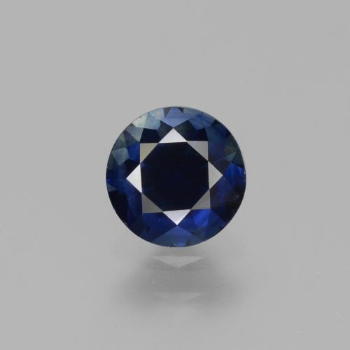 0.8ct Diamond-Cut Dark Blue Sapphire Gem (ID: 449798)