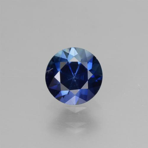 Blue Sapphire Gem - 0.7ct Diamond-Cut (ID: 449804)