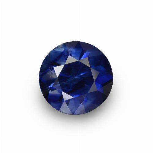 Blue Sapphire Gem - 0.8ct Diamond-Cut (ID: 449821)