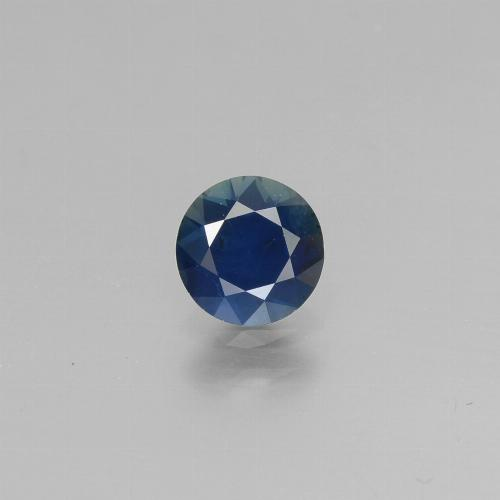 Blue Sapphire Gem - 0.7ct Diamond-Cut (ID: 449823)