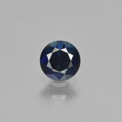 Blue Sapphire Gem - 0.6ct Diamond-Cut (ID: 449861)