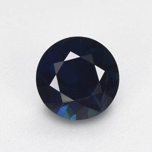 Night Blue Zafiro Gema - 0.6ct Corte Diamante (ID: 449862)