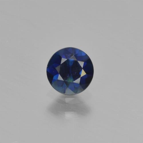 Blue Sapphire Gem - 0.5ct Diamond-Cut (ID: 449863)
