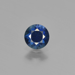 Buy 0.52 ct Blue Sapphire 4.85 mm  from GemSelect (Product ID: 449864)