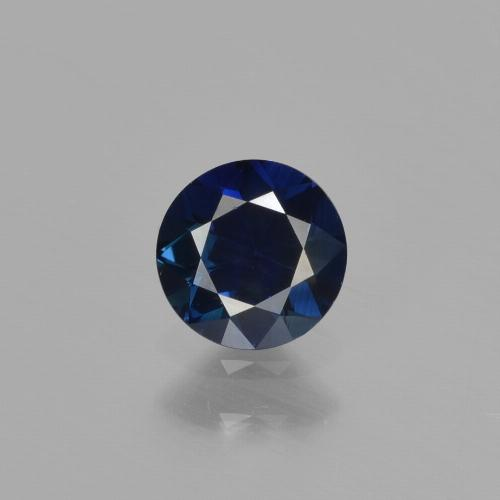 Blue Sapphire Gem - 0.6ct Diamond-Cut (ID: 449877)