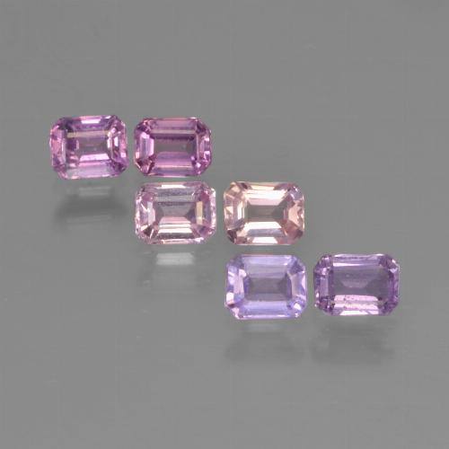 Multicolor Sapphire Gem - 0.3ct Octagon Step Cut (ID: 451363)
