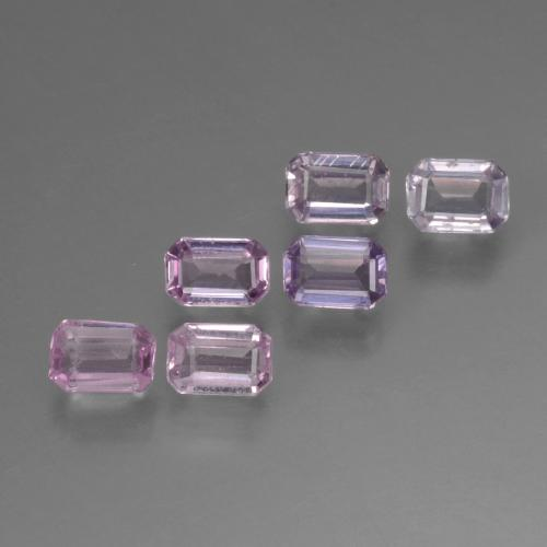 Multicolor Sapphire Gem - 0.2ct Octagon Step Cut (ID: 451420)