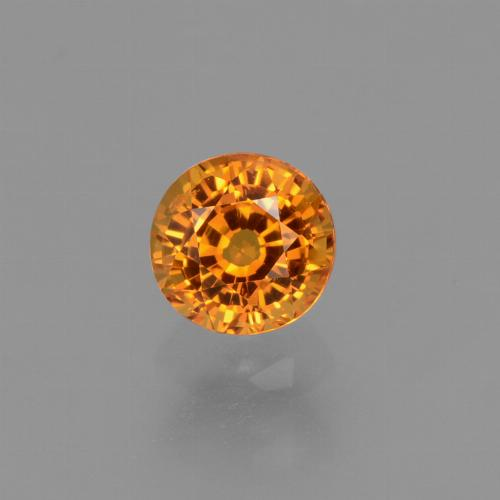 Yellow Sapphire Gem - 0.7ct Round Facet (ID: 453082)