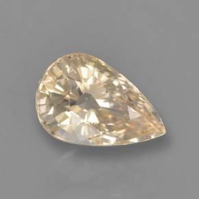 Yellow Sapphire Gem - 1.4ct Pear Facet (ID: 460809)