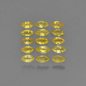 thumb image of 0.1ct Marquise Facet Yellow Golden Sapphire (ID: 462089)