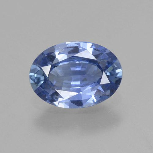 Blue Sapphire Gem - 0.8ct Oval Facet (ID: 464028)