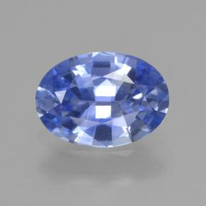 Blue Sapphire Gem - 1ct Oval Facet (ID: 464032)