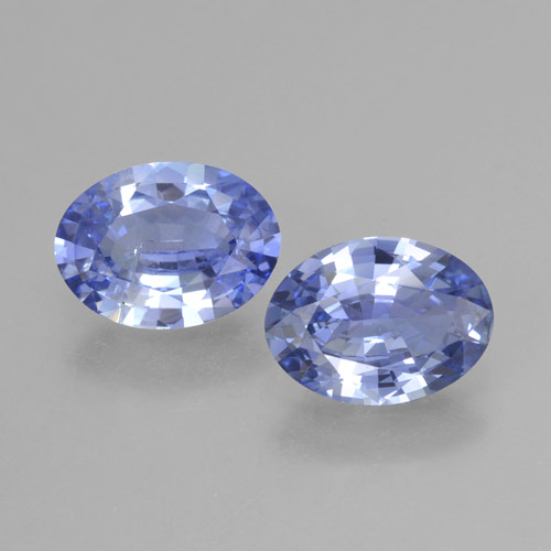 Blue Sapphire Gem - 1ct Oval Facet (ID: 464037)