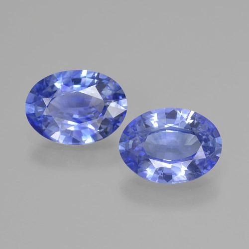 Blue Sapphire Gem - 0.9ct Oval Facet (ID: 464039)