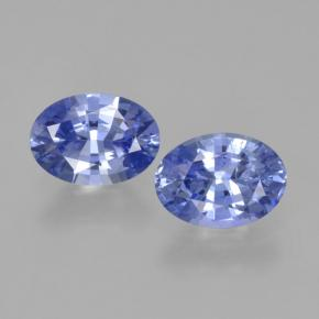 Blue Sapphire Gem - 0.9ct Oval Facet (ID: 464044)