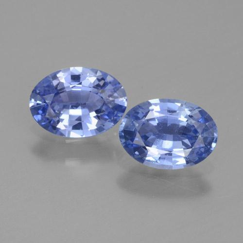 Blue Sapphire Gem - 0.8ct Oval Facet (ID: 464073)