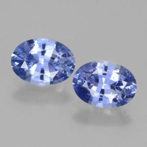 1.1ct Oval Facet Blue Sapphire Gem (ID: 464078)