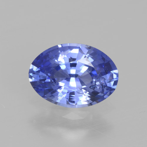 Blue Sapphire Gem - 0.8ct Oval Facet (ID: 464096)