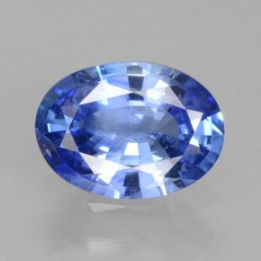 Blue Sapphire Gem - 0.9ct Oval Facet (ID: 464145)