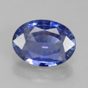 Blue Sapphire Gem - 0.8ct Oval Facet (ID: 464155)