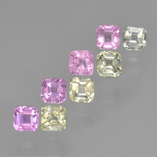 Buy 1.31 ct Multicolor Sapphire 2.73 mm x 2.7 mm from GemSelect (Product ID: 464191)